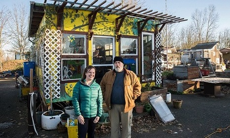 In a Tiny House Village, Portland's Homeless Find Dignity | This Gives Me Hope | Scoop.it