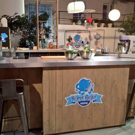 Nestlé inaugure Le P'tit Resto, un restaurant éphémère 100% dédié aux bébés ! Marketing Stories | Stratégies et actions marketing à l'international | Scoop.it