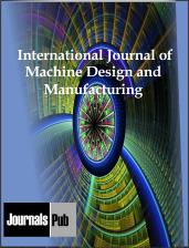 International Journal of Machine Design and Manufacturing | journalspub | Scoop.it