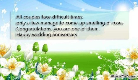 Marriage anniversary wishes for friends sms - Wishes4smile   Entertainment   Scoop.it