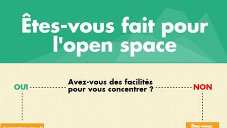 [Infographie] Travailler en open space : bonne ou mauvaise idée ? | Aménagement des espaces de vie | Scoop.it