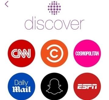Snapchat, la generación que viene y la información | el mundo doscero | Scoop.it