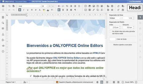 OnlyOffice: completa suite ofimática online y gratuita | LabTIC - Tecnología y Educación | Scoop.it