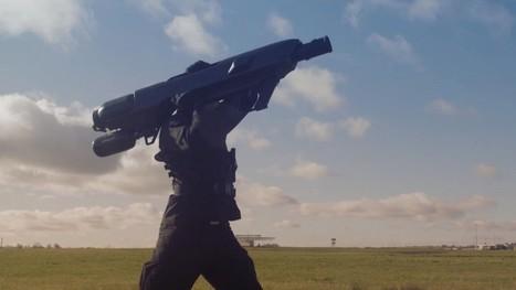 Cet impressionnant bazooka est-il l'arme ultime contre les drones ? | Des robots et des drones | Scoop.it