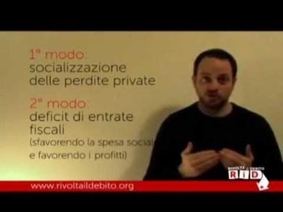Video spiegazione sul debito | Tifiamo default? | Scoop.it