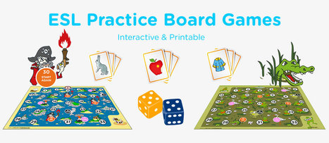 Games for Learning English, Vocabulary, Grammar Games, Activities, ESL | ESOL, TESOL, TESL, ESL | Scoop.it