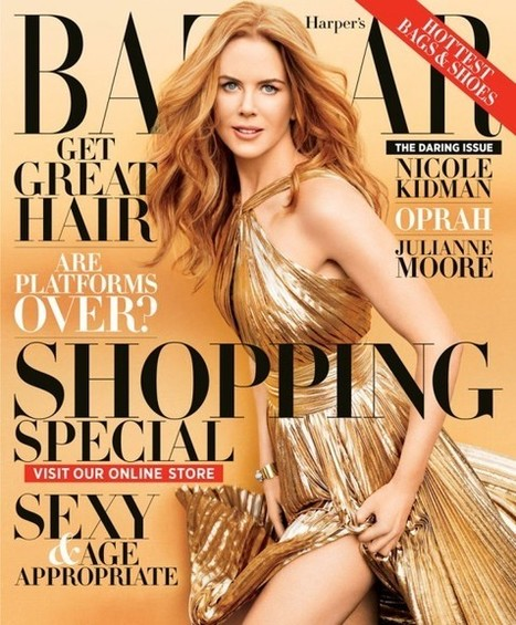Celebphotobox: Nicole Kidman Covers the November Issue of Harper's Bazaar | Nicole Kidman | Scoop.it