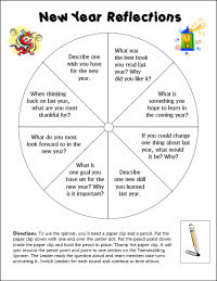 New Year Reflections Teambuilding Activity | Seasonal Freebies for Teachers | Scoop.it