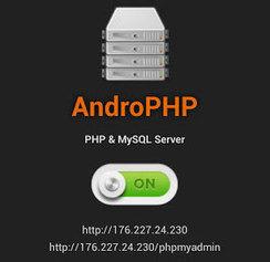 Crea un servidor Web en tu Android con AndroPHP - Marlex Systems | apps educativas android | Scoop.it