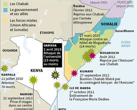 Les Chabab somaliens intensifient leurs attaques auKenya - Le Monde | SCOOP IT COLLEGE JEAN MONNET JANZE | Scoop.it