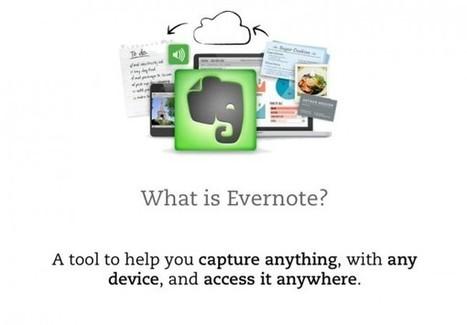 11 usos de Evernote para el mundo académico   Tecnologia Instruccional   Scoop.it