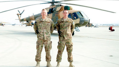 Columbiana airmen meet 8,000 miles from home in Afghanistan | Shelby County Reporter | WinMax Negotiations | Scoop.it