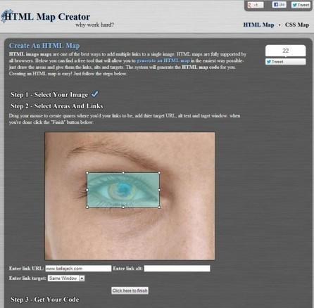 Création d'images cliquables, HTML Map Creator   Ballajack   Ma boîte à outils   Scoop.it
