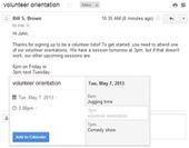 Gmail : l'application Agenda communiquera bientôt avec les messages électroniques | Le leadership de Google | Scoop.it