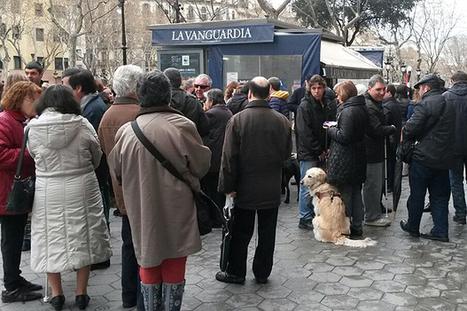 Invidents es manifesten contra la circulació de vehicles sobre voreres del passeig de Gràcia-BTVNOTÍCIES.cat   En torno a la silla   Scoop.it