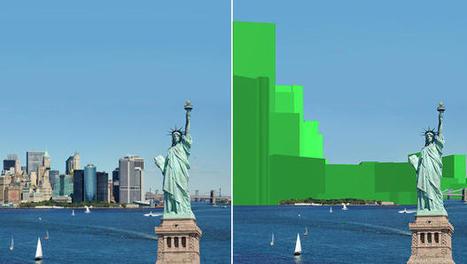 Re-envisioning The Manhattan Skyline To Reflect The City's Jarring Income Inequality | P O C: Présentation Originale des Connaissances | Scoop.it