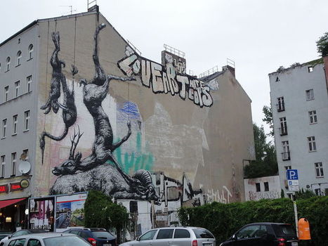 Street art in Kreuzberg, Berlin.JPG - Wikimedia Commons | World of Street & Outdoor Arts | Scoop.it