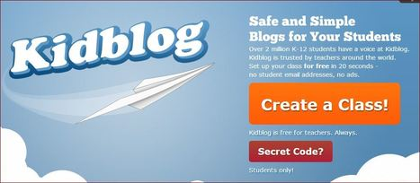 Why Kidblog | Kidblog | Worth Following | Scoop.it