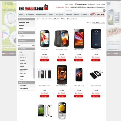 Buy New Celkon Mobiles Online | Mobile & Tablets | Scoop.it