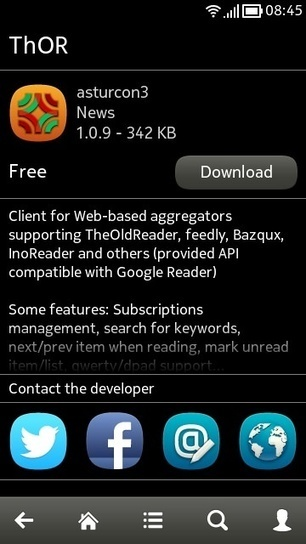 ThOR feed reader [for Symbian] surfaces with updates on AppList | RSS Circus : veille stratégique, intelligence économique, curation, publication, Web 2.0 | Scoop.it