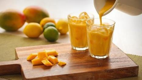 Mango Passion Fruit Smoothie | drinks | Scoop.it