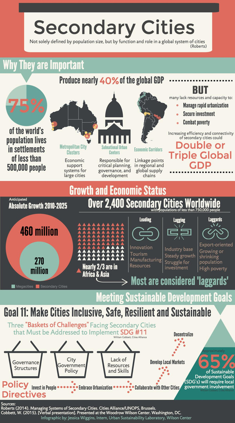 Secondary Cities: Neglected Drivers of Growing Economies [Infographic] | New Security Beat | Urban Development in Africa | Scoop.it