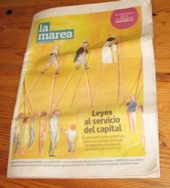 Spain's Rebellion Moves to Print | real utopias | Scoop.it