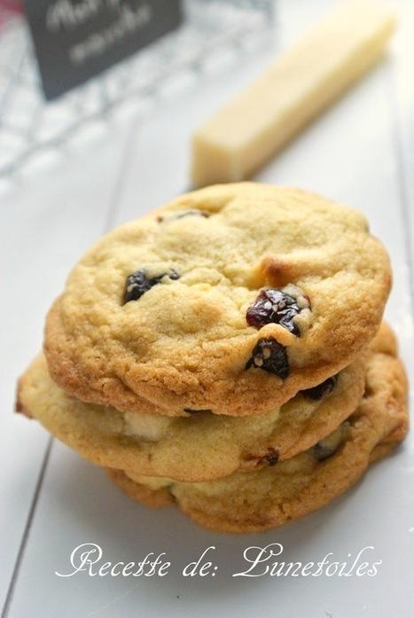 cookies a la pate d'amande et cranberry | gateaux algeriens 2016 | Scoop.it