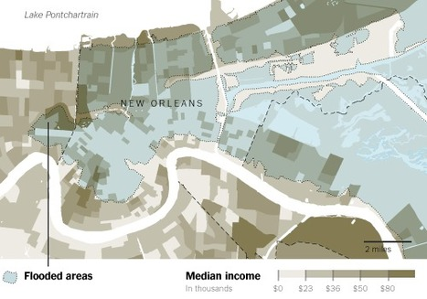 When Maps Shouldn't Be Maps | Unstick Your Stories Using Visuals | Scoop.it