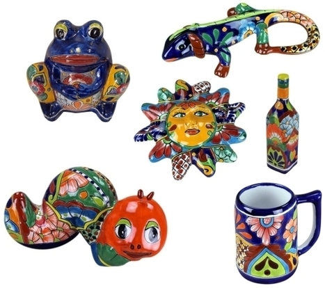 Talavera Pottery Regarded Simply by a Milky-White Glaze!!! | Mexican Furniture & Decor | Scoop.it
