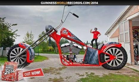 Twitter / VVorldRecords: The tallest rideable motorcycle ... | Motorcycle Mania | Scoop.it