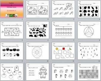Cuaderno Nº 2 de habilidades básicas para trabajar la atención | Recull diari | Scoop.it