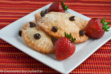 Chocolate Turnovers. #Cooking #Recipes | The Man With The Golden Tongs Hands Are In The Oven | Scoop.it
