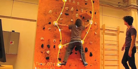 Kinect and Augmented Reality Turn the Wall Climbing into Interactive Game | KINECT APPS - GAMES | Scoop.it