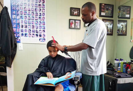 It Takes A Village: When the Barber Also Pushes Literacy | Teaching and Professional Development | Scoop.it
