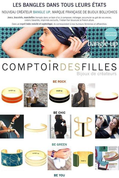 Soyez Bangles addict ! Les joncs bangle up sont sur comptoirdesfilles.com - Comptoir des Filles | Comptoir des Filles | Scoop.it