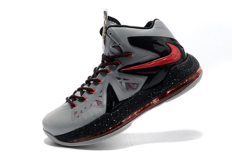 Air Max King James X P.S Elite Inspired Colorways Grey/Black and Red Men Athletic Shoes | new and fashion list | Scoop.it