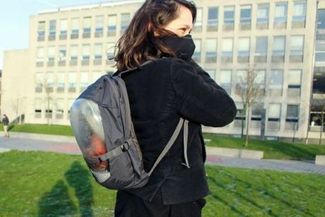 The Plant Bag : un « sac à plantes » pour se protéger de la pollution de l'air   Efficycle   Scoop.it
