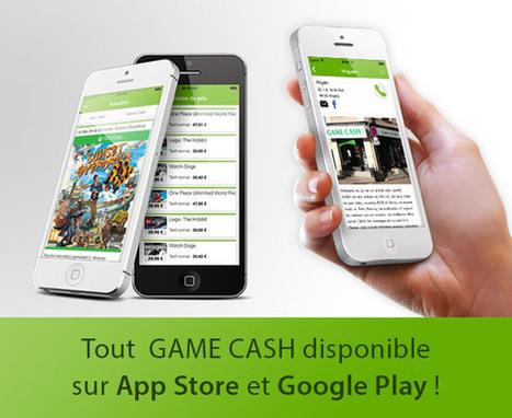 L'application mobile Game Cash désormais disponible - Toute-la-Franchise.com | Les jeux et concours marketing en ligne | Scoop.it