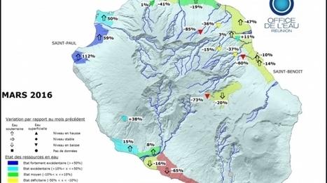 Ressources en eau : déficit en mars | Habiter La Réunion | Scoop.it