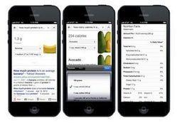 Google lance un moteur de recherche nutritionnel | Atawad | Scoop.it