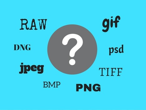 Understanding all the Different Image File Formats | Challenges in Education | Scoop.it
