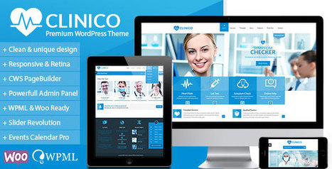 Clinico v1.3 - Premium Medical and Health Theme - Yocto Templates | YOCTO WordPress Themes & Plugins | Scoop.it