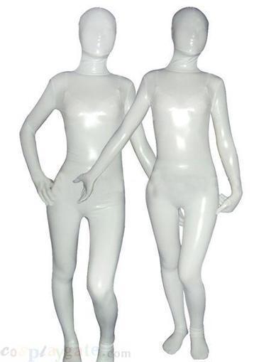 White Cream Shiny Metallic Unisex Zentai SuitFree Shipping - wholesale Silk & Velours Zentai Suits - wholesale Catsuits & Zentai - CosplayGate.com   zentai bodysuit,spandex zentai suit bodysuit   Scoop.it