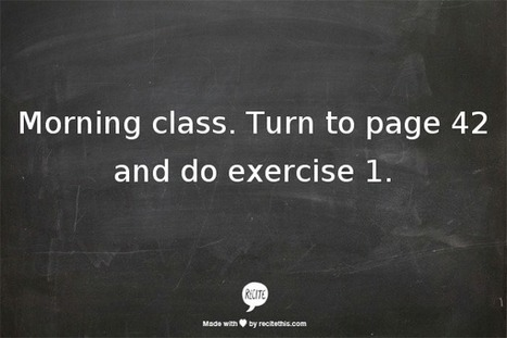 10 ways to use the course book | Online TEFL Training | TechInELC | Scoop.it