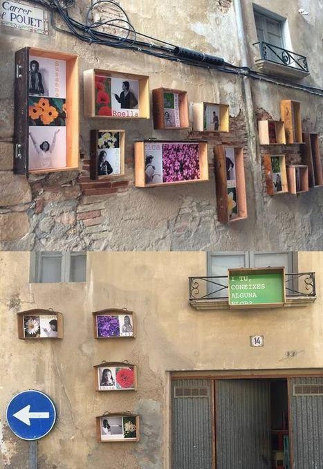 Les Intervencions – ART AL BARRI   Usos temporals per a espais buits   Scoop.it