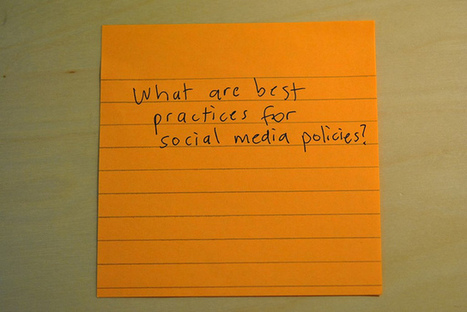 21 Must Haves in Your Social Media Policy | Virtual Options: Social Media for Business | Scoop.it