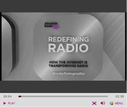 Absolute Radio sets date for targeted ads in streaming - Media news - Media Week | Radio 2.0 (En & Fr) | Scoop.it