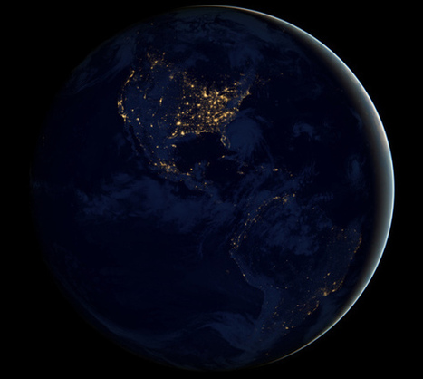 NASA releases stunning photos of Earth atnight | ub3r newz | Scoop.it