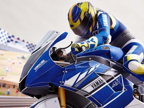 Reliving Rossi's Corkscrew Pass on Stoner…with Paper | Digital-News on Scoop.it today | Scoop.it